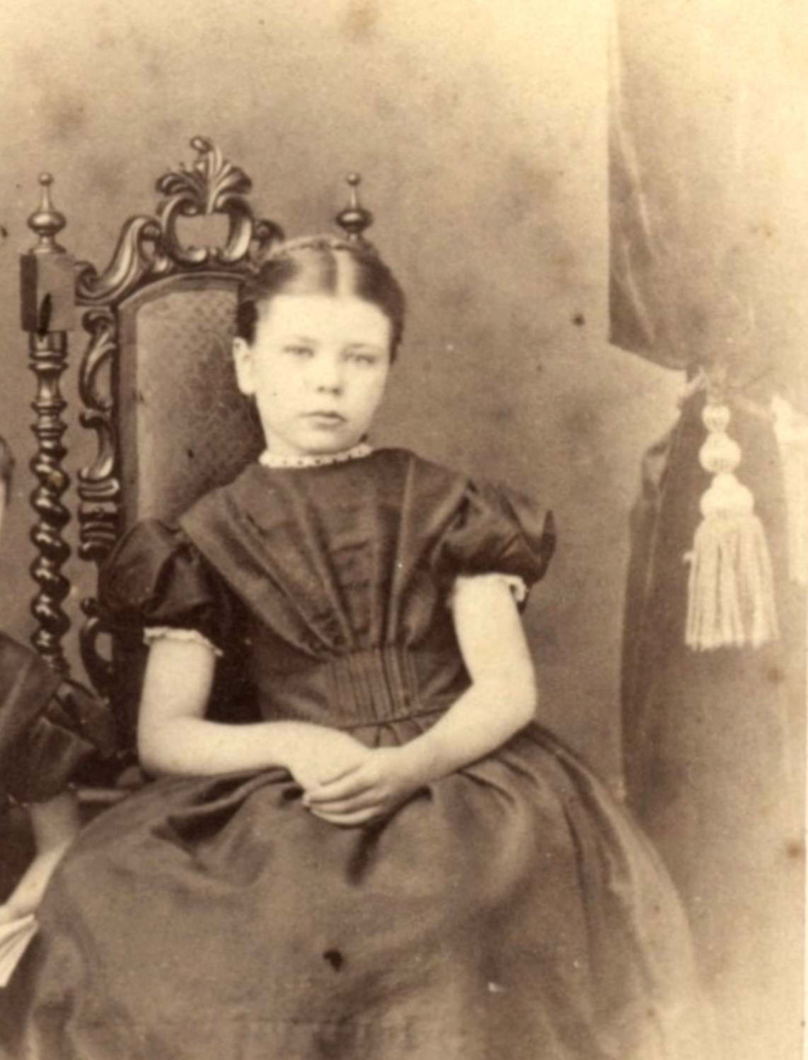 Alice Smith ca. 1865, FP