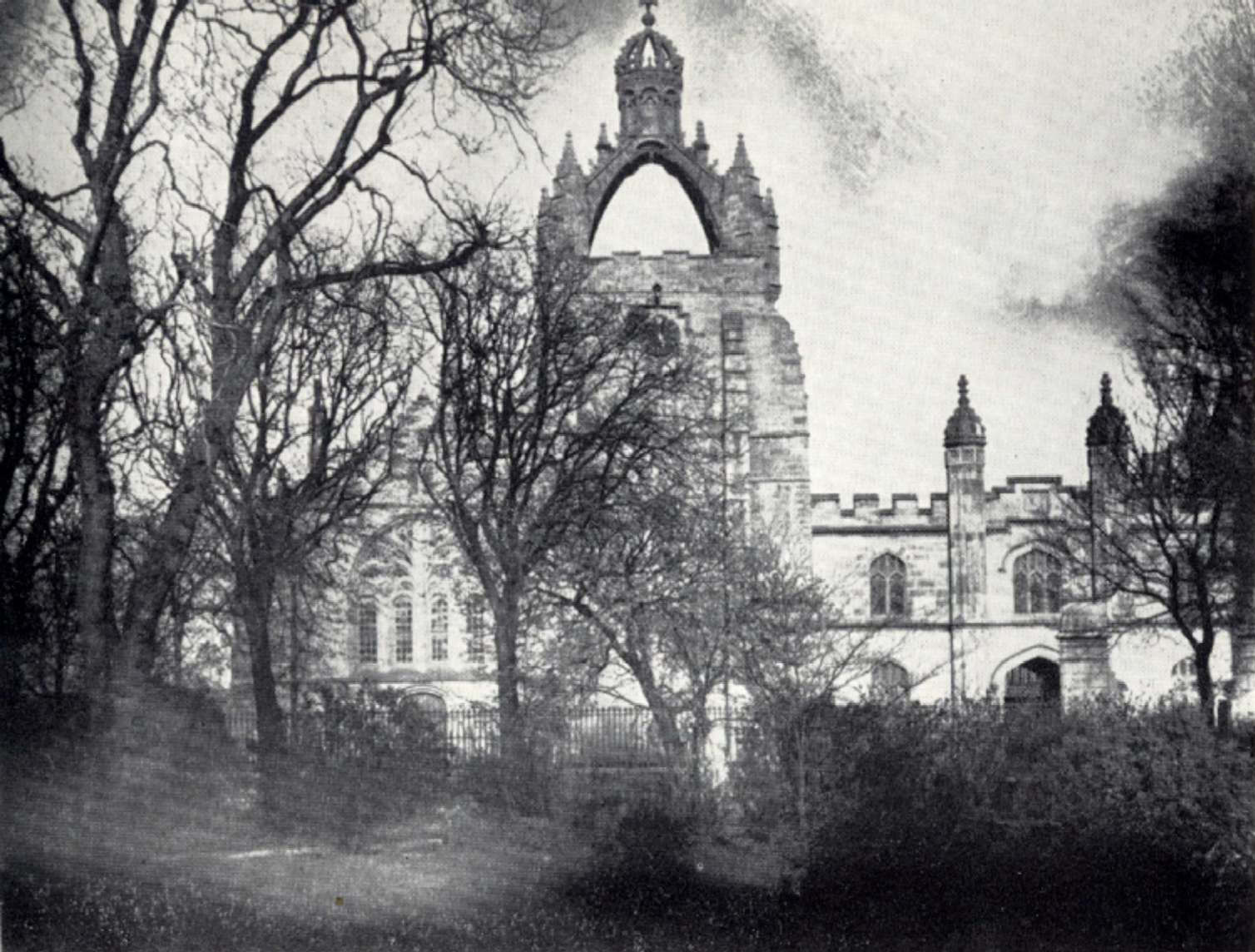 King's College Aberdeen, 1850s, JFW