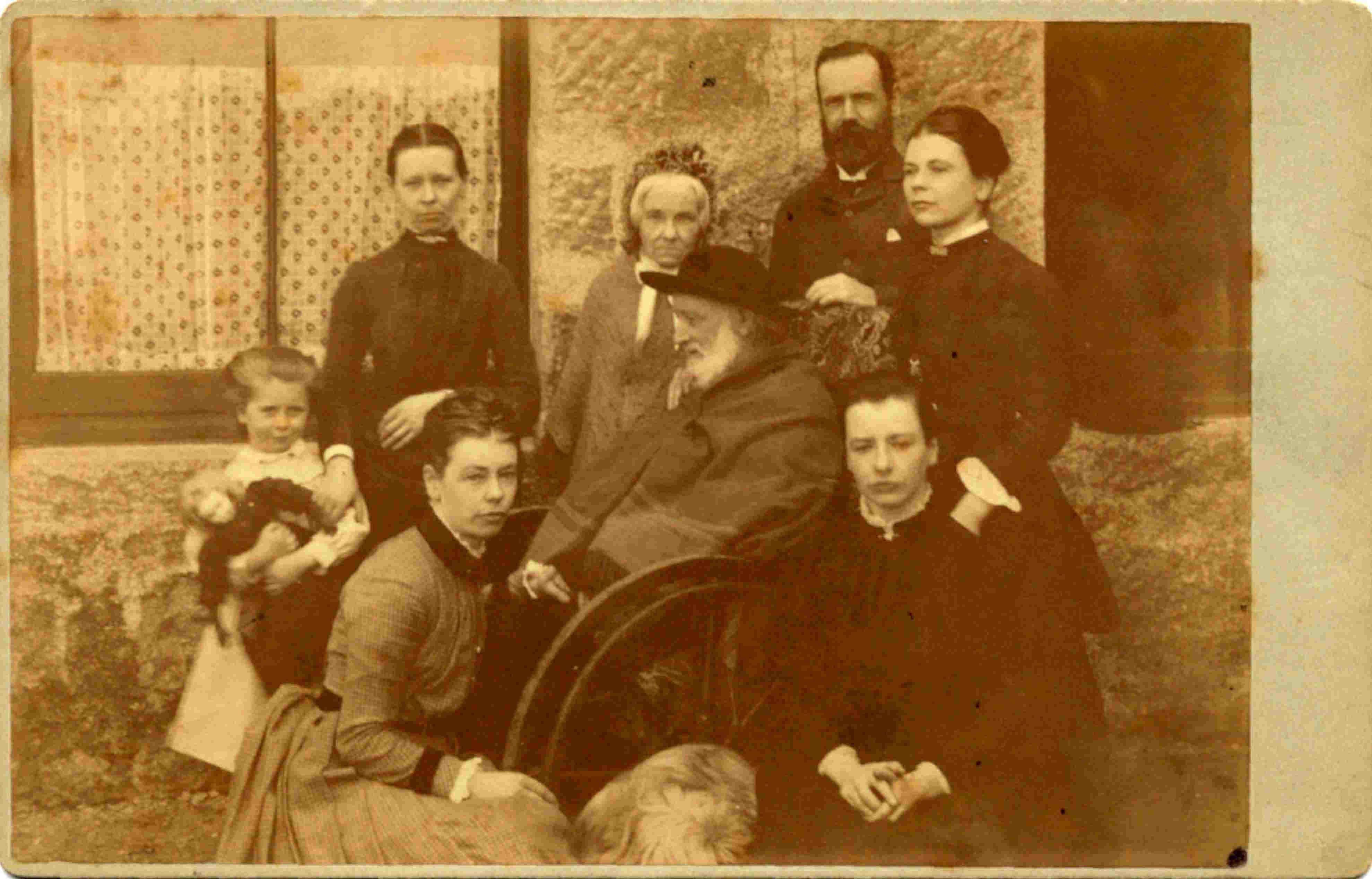 Smith Familie in Aberdeen, 1889, FP
